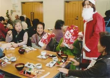 日之出デイホーム クリスマス会