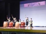 児童館まつりステージ発表 和太鼓演奏