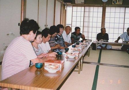 東藤島デイホーム 食事会