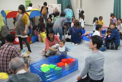 児童館まつり わくわくちびっこ広場