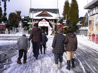 和田八幡宮に初詣