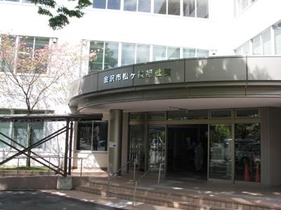 金沢市松ヶ枝福祉館の玄関
